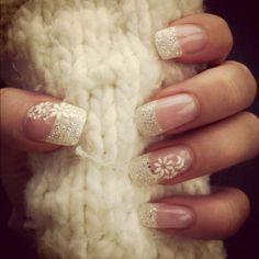 pretty winter nails