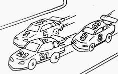 32 Best Race Car coloring pages images | Race car coloring pages ...
