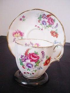 Royal Albert Barbara Ann Floral Bone China Cup & Saucer Set