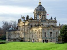 Castle Howard, England - Side view of the castle (makes me think of my trips to see Dave. This is right by where he lives.) Been here many times. Beautiful!!!!