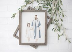 Faith In Every Footstep Jesus Painting Peace in Christ Arte Lds, Getting Baptized, Lds Art, Bible Art, Jesus Painting, Rock Painting, Jesus Art, Jesus Christ, Lds Primary