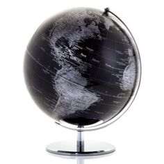 World Globe - Black from Z Gallerie
