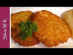 Kartoffelpuffer/Reibekuchen - wenige Zutaten - YouTube How To Cook Rice, Cornbread, Pancakes, Muffin, Tasty, Homemade, Cooking, Breakfast, Ethnic Recipes