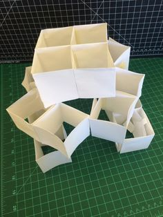 iteration 3: rotated pyramids. obtained by rotating iteration 2. #mounicaguturu #48-105