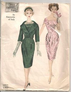 1950s VOGUE Couturier Design Sewing by RainbowValleyVintage, £35.00
