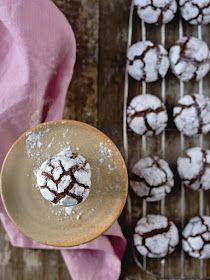 Pradobroty: Crinkles Christmas Sweets, Christmas Baking, Christmas Cookies, Dessert Recipes, Desserts, Crinkles, Sweet Tooth, Cheesecake, Food And Drink