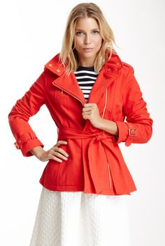 Kenneth Cole New York Hooded Trench Coat on shopstyle.com