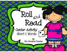 This product contains three game boards to help students practice Short I CVC words. Grades K-2 ~ The Vivacious Teacher