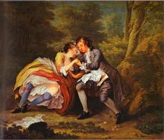 William Hogarth is great. Nothing like a little bawdy 18th century humor.