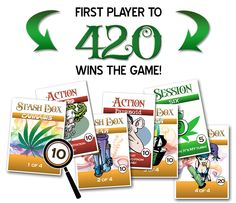 High Jack is an awesome marijuana card game designed by a master artist and the marijuana etiquette site SmokingWithStyle.com