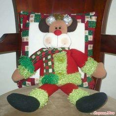 Новогодние подушки для радости и уюта - Клуб рукоделия - Страна Мам Christmas Table Decorations, Holiday Decor, Christmas Stockings, Xmas, Gift Wrapping, Pillows, Diy, Erika, Home Decor
