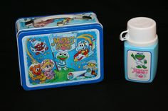 1985 Muppet Babies Lunch Box and Thermos - I had one when I went to kindergarten! Oh the memories...