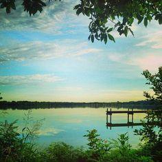 White Rock Lake, Dallas from @tracydelos