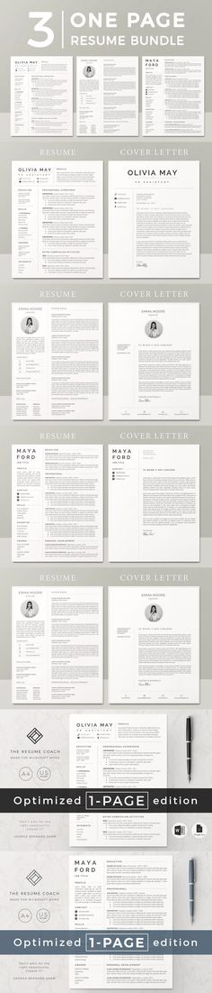 This is our 1 page resume template.Preparing a resume should never be a stress anymore! Web Designer Resume, Graphic Designer Resume Template, One Page Resume Template, Sample Resume Templates, Graphic Design Resume, Modern Resume Template, Resume Design Template, Stationery Templates, Creative Resume Templates