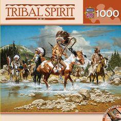 Tribal Spirit - The Chiefs - 1000 Piece Jigsaw Puzzle