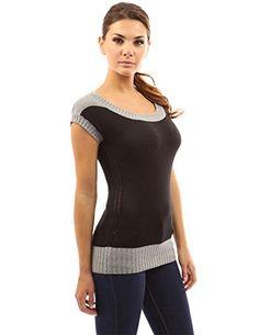 PattyBoutik Women's Eyelet Sides Details Knit Top (Black and Grey 12) PattyBoutik http://www.amazon.co.uk/dp/B00WQD6YVS/ref=cm_sw_r_pi_dp_5-tjwb1RV0WQK