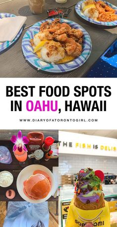 The best food spots to visit in Honolulu, Hawaii. Oahu is filled with amazing restaurants and great places to eat! Hawaii Honeymoon, Hawaii Vacation, Honeymoon Ideas, Honeymoon Destinations, Hawaii Trips, Hawaii Life, Italy Vacation, Holiday Destinations, Vacation Ideas