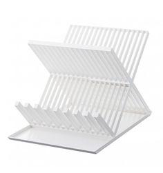 Egoutoir vaisselle blanc deux niveaux Yamazaki