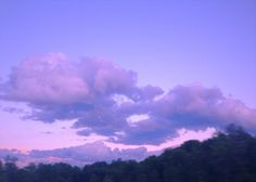 """xeverin: """" driving by a purple sky on our road trip """""""