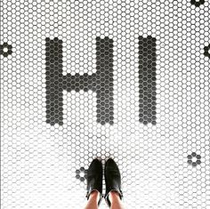 Little Green Notebook: I Have This Thing With Floors (the Hex Tile Chapter) Hex Tile, Hexagon Tiles, Mosaic Tiles, Mosaic Floors, Marble Mosaic, Floor Design, Tile Design, House Design, Floor Patterns