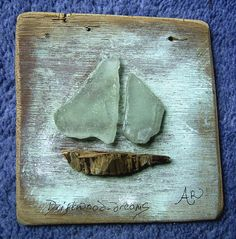 A ceramic sculpture from www.driftwood-dreams.co.uk Artist Anita Russell