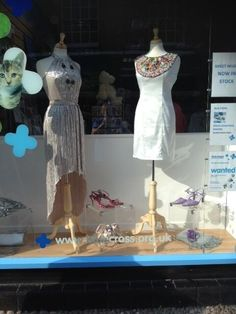 Our Nantwich shop is having huge success with The Clothes Line party dresses - we've sent them a great selection like these in the window from Reiss, Forever Unique, Warehouse & Jaeger.