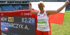 Anita Włodarczyk, Polen vann guldet i damrenas släggkastning 82.29 (världsrekord), silver Wenxiu Zhang, Kina 76.75, brons Sophie Hitchon, Storbritannien 74.54.