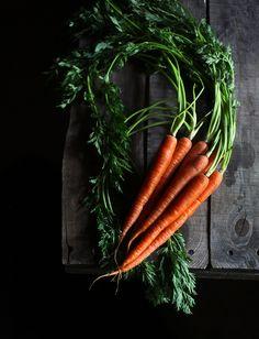 Honey & Jam: Butter Roasted Carrots with Lemon Thyme