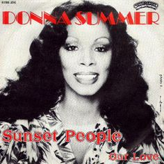 """Cover of Donna Summer's """"Sunset People"""" (Canada)"""