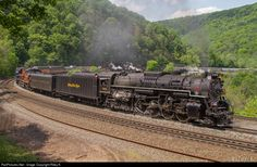 RailPictures.Net Photo: FWRHS 765 Norfolk Southern Steam 2-8-4 at Altoona, Pennsylvania by Riley K.