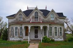 needs love. I can just picture the hidden beauty in this home. Always dreamed of having an old home to fix up one day.