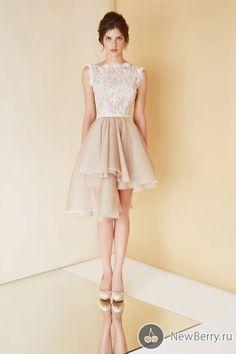 Khaki Lace dress