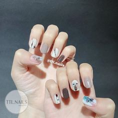 Bling Nails, Swag Nails, My Nails, Korea Nail, Creative Nails, Perfect Nails, Nail Trends, Nails Inspiration, Beauty Nails