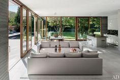 A Modernist Home in the Hamptons. Architects Tod Williams & Billie Tsien. Photography Nikolas Koenig. AD June 2013.