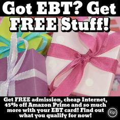Get free admission, free Internet and so much more with your EBT card! Click now to find out what& available in your state! Stuff For Free, Free Stuff By Mail, Earn Money From Home, How To Get Money, Life Hacks Websites, Freebies By Mail, Sites Online, Lisa, Frugal Tips