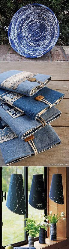 Джинсовые переделки. http://postila.ru/id3192439/djinsyi    (Lots and Lots of recycled Denim ideas and patterns.) cj