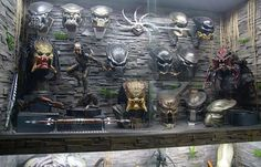 That's a Badass Collection! Predator Collection at the Yexel's Toy Museum.