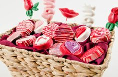 Valentine's Day basket from my web site
