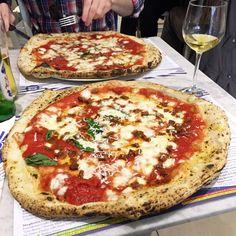 Pizza from Pizzeria Gino Sorbillo-Milan