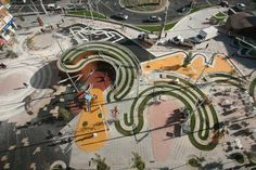 Ricard Vines Square - Public plazas can tie communities together and give people a place to gather, express themselves, connect with others and represent the cultural, historical and/or physical importance of the area.