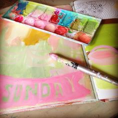 A Weekend of Journaling Fun with Pam Garrison