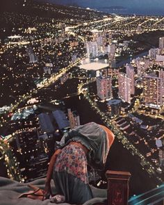 lonely lonely nights in the city City Collage, Collage Art, Mont Real, Loneliness, Art Blog, Seoul, Lonely, Night, Artist
