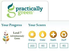 Cannot recommend the Practically Green website highly enough. Everyone should try it. Get ideas for sustainable actions to take and measure your progress at www.PracticallyGreen.com