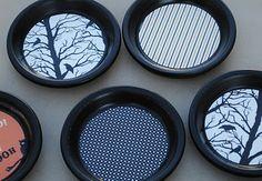 Halloween Terra Cotta Coasters