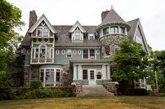 The Hutchinson Mansion in Ypsilanti, Michigan.