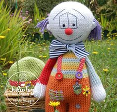 """Little Teddy Bear – crochet pattern  For the second anniversary of the """"Julio Toys"""" for all my fans, I put this pattern for free. My web si..."""