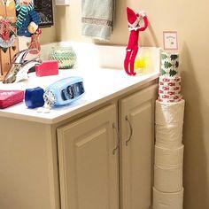 Elf On The Shelf.  Elf.  Elfin Around.  Santa's Elves.  Christmas.  Christmas Fun.  Christmas Traditions.  Lemonade Kisses.  Hershey Squirts.