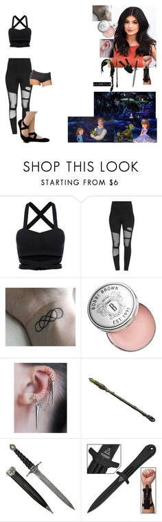"""Spencer and Sofia go to the Caves beneath the castle to find Gnarley"" by andyarana ❤ liked on Polyvore featuring Bobbi Brown Cosmetics and Leonisa"
