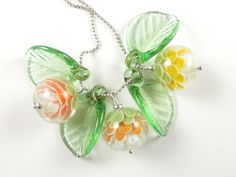 Squash Blossoms - Betty Hanssen Squash Blossom, Lampworking, Beaded Rings, Ancient Romans, Lampwork Beads, Wearable Art, Blossoms, Glass Beads, Jewelry Making