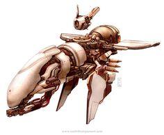 sci-fi insect spaceship - Google zoeken